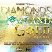 Diamonds And Gold Riddim Cover 600x600 1