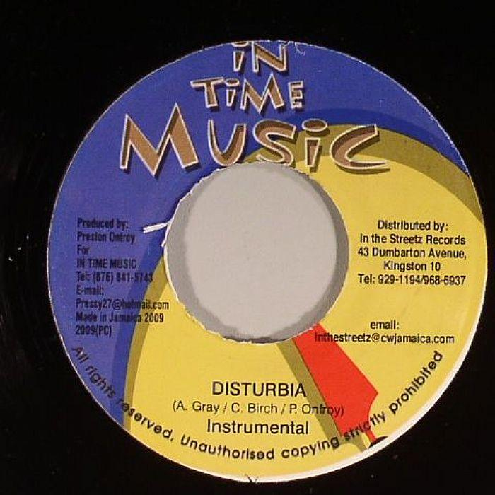 disturbia riddim  – in time music production