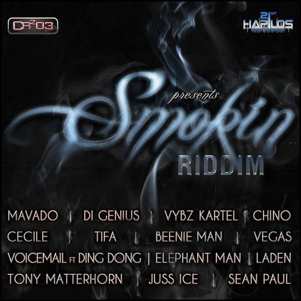Smokin Riddim Cd Front Cover