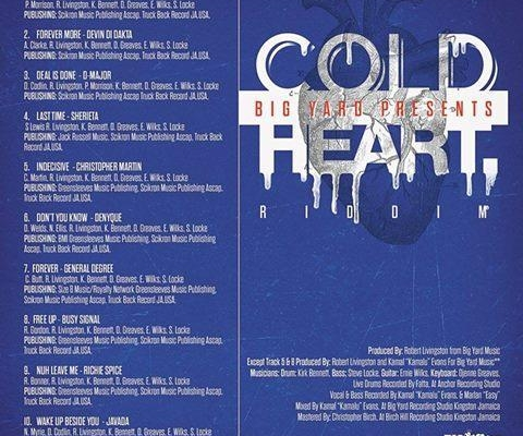 Cold Heart Riddim 2015