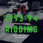 1993 1994 Reggae Dancehall Riddims 1