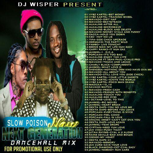Dancehall Mixtape 2017
