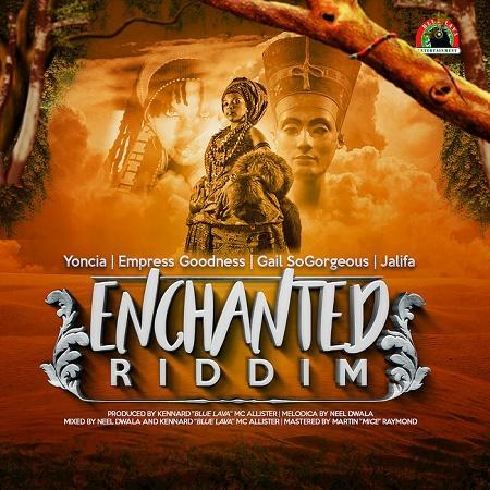 enchanted riddim – blue lava entertainment
