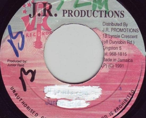 All Fruits Ripe Riddim 1991 Jr Production