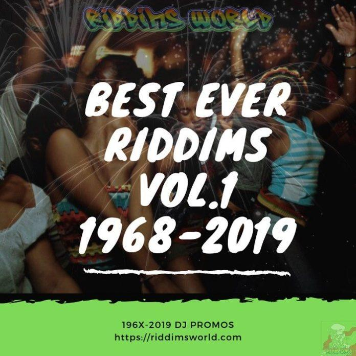 TOP / HIT / BEST REGGAE & DANCEHALL RIDDIMS - 1968-2019