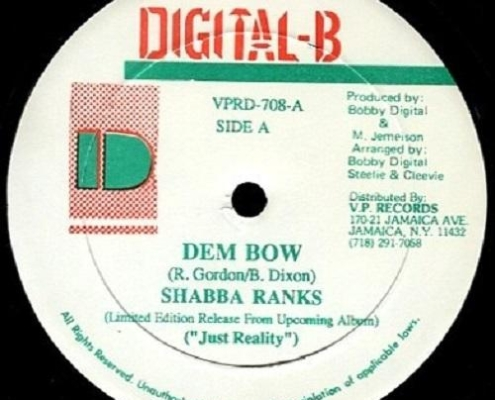 Dem Bow Riddim Digital B