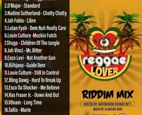 Dj Nature Won Reggae Lover Riddim Mix