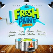 Fresh Paint Riddim Cover