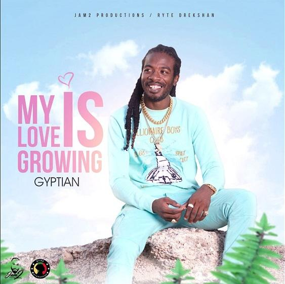 Gyptian My Love Is Growing Album