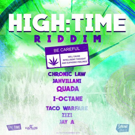 High Time Riddim 2019 E1563497463463