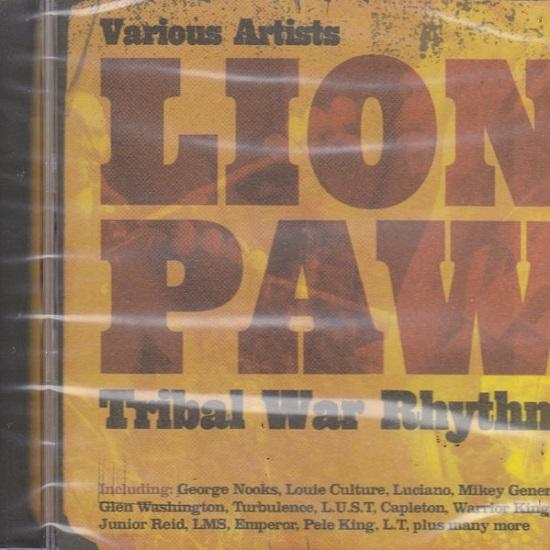 Lion Paw Tribal War Rhythm