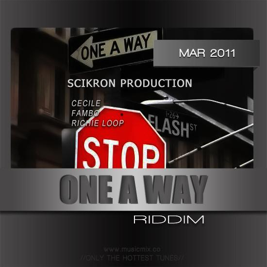 one a way riddim – scikron production