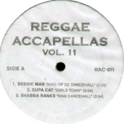 Reggae Acapellas Vol 11