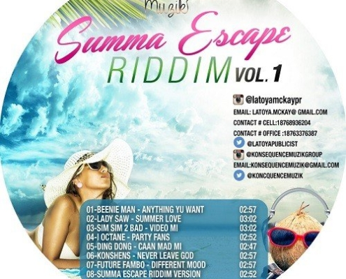 Summa Escape Riddim Vol 1 Dancehall Konsequence Muzik