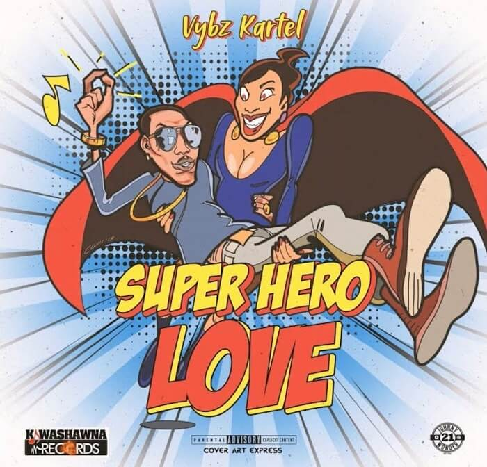 Vybz Kartel Super Hero 1
