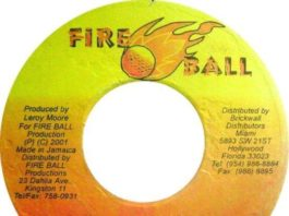 wanga riddim – fire ball production
